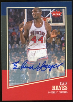 2013/14 Upper Deck Fleer Retro Autographs #5 Elvin Hayes G Autograph