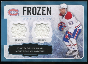 2013-14 Upper Deck Artifacts Frozen Artifacts Jerseys Blue #FADD David Desharnais B