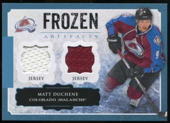 2013-14 Upper Deck Artifacts Frozen Artifacts Jerseys Blue #FAMR Matt Duchene B