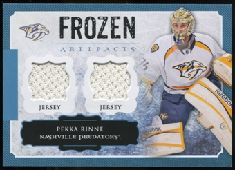 2013-14 Upper Deck Artifacts Frozen Artifacts Jerseys Blue #FAPR Pekka Rinne B