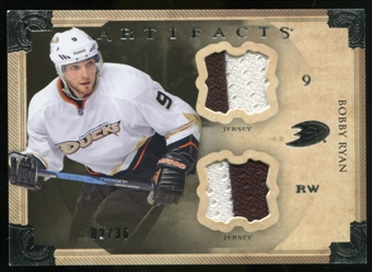 2013-14 Upper Deck Artifacts Horizontal Jerseys #9 Bobby Ryan /36