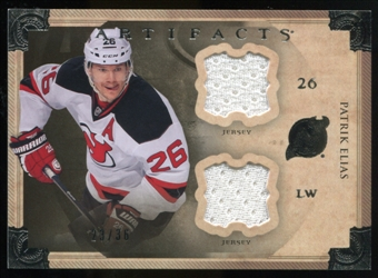2013-14 Upper Deck Artifacts Horizontal Jerseys #81 Patrik Elias /36