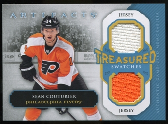 2013-14 Upper Deck Artifacts Treasured Swatches Jerseys Blue #TSSC Sean Couturier C