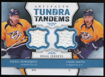 2013-14 Upper Deck Artifacts Tundra Tandems Jerseys Blue #TTHS Patric Hornqvist/Craig Smith B
