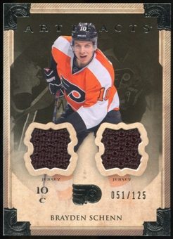2013-14 Upper Deck Artifacts Jerseys #11 Brayden Schenn /125