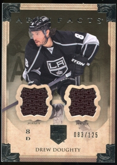 2013-14 Upper Deck Artifacts Jerseys #22 Drew Doughty /125