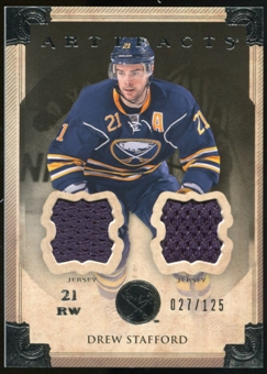2013-14 Upper Deck Artifacts Jerseys #23 Drew Stafford /125