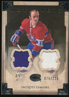 2013-14 Upper Deck Artifacts Jerseys #32 Jacques Lemaire /125