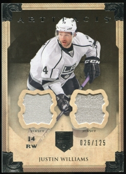 2013-14 Upper Deck Artifacts Jerseys #44 Justin Williams /125
