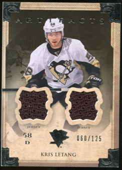 2013-14 Upper Deck Artifacts Jerseys #47 Kris Letang /125