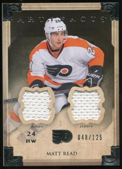 2013-14 Upper Deck Artifacts Jerseys #58 Matt Read /125