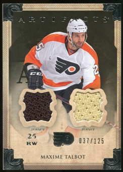 2013-14 Upper Deck Artifacts Jerseys #60 Maxime Talbot /125