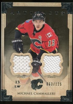 2013-14 Upper Deck Artifacts Jerseys #61 Michael Cammalleri /125