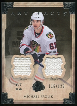 2013-14 Upper Deck Artifacts Jerseys #62 Michael Frolik /125