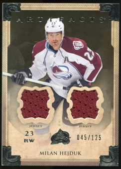 2013-14 Upper Deck Artifacts Jerseys #69 Milan Hejduk /125