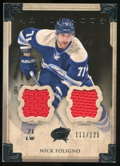 2013-14 Upper Deck Artifacts Jerseys #72 Nick Foligno /125