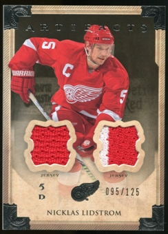 2013-14 Upper Deck Artifacts Jerseys #73 Nicklas Lidstrom /125