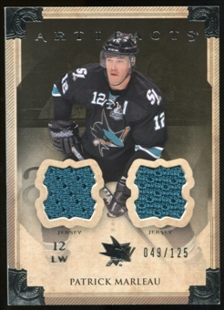 2013-14 Upper Deck Artifacts Jerseys #80 Patrick Marleau /125