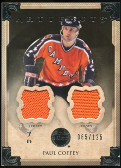 2013-14 Upper Deck Artifacts Jerseys #82 Paul Coffey /125