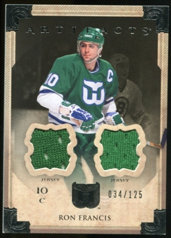 2013-14 Upper Deck Artifacts Jerseys #86 Ron Francis /125