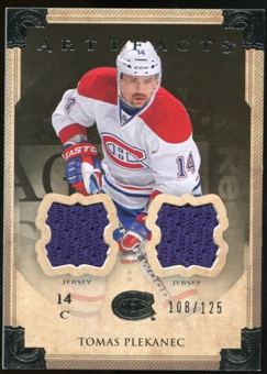 2013-14 Upper Deck Artifacts Jerseys #95 Tomas Plekanec /125
