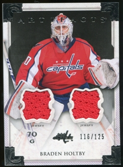 2013-14 Upper Deck Artifacts Jerseys #103 Braden Holtby G /125