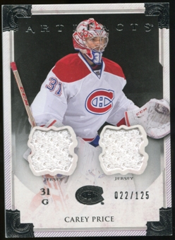 2013-14 Upper Deck Artifacts Jerseys #104 Carey Price G /125