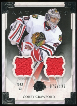 2013-14 Upper Deck Artifacts Jerseys #106 Corey Crawford G /125
