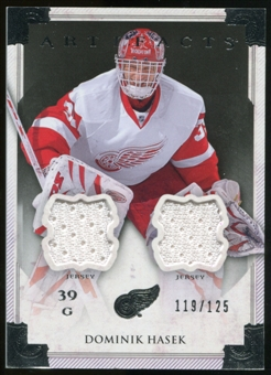 2013-14 Upper Deck Artifacts Jerseys #110 Dominik Hasek G /125