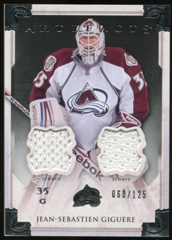 2013-14 Upper Deck Artifacts Jerseys #113 Jean-Sebastien Giguere G /125