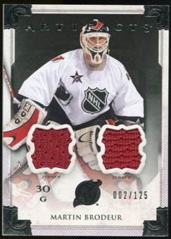 2013-14 Upper Deck Artifacts Jerseys #118 Martin Brodeur G /125