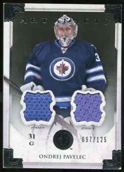 2013-14 Upper Deck Artifacts Jerseys #120 Ondrej Pavelec G /125