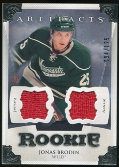 2013-14 Upper Deck Artifacts Jerseys #172 Jonas Brodin /125