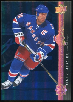 2014/15 Upper Deck Shining Stars Royal Blue #SS46 Mark Messier