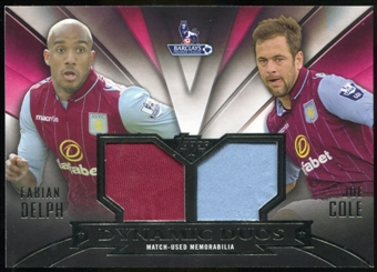 2014/15 Topps English Premier League Gold Dynamic Duo Relics #DDRDCO Fabian Delph/Joe Cole /50