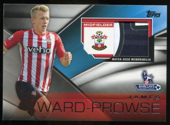 2014/15 Topps English Premier League Gold Football Fibers Relics #FFRJWE James Ward-Prowse