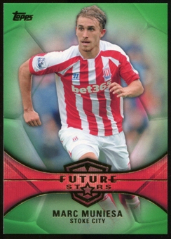 2014/15 Topps English Premier League Gold Future Stars Green #FSMM Marc Muniesa /60