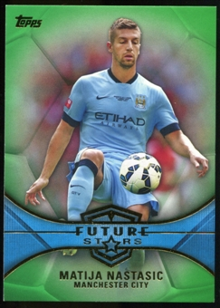 2014/15 Topps English Premier League Gold Future Stars Green #FSMN Matija Nastasic /60