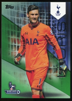 2014/15 Topps English Premier League Gold Green #132 Hugo Lloris /60