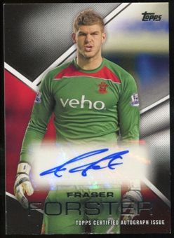 2014/15 Topps English Premier League Gold Premier Autographs #PAFF Fraser Forster Autograph