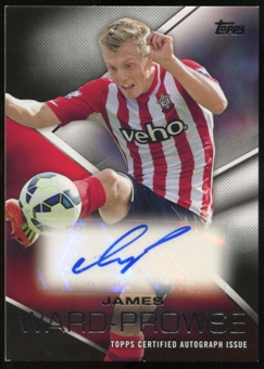 2014/15 Topps English Premier League Gold Premier Autographs #PAJWE James Ward-Prowse Autograph