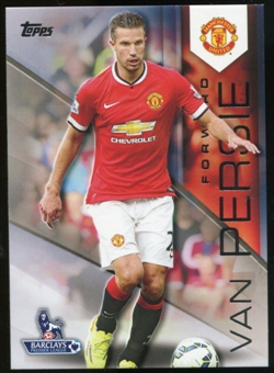 2014/15 Topps English Premier League Gold #87 Robin van Persie