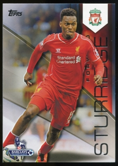 2014/15 Topps English Premier League Gold Black #69 Daniel Sturridge /25