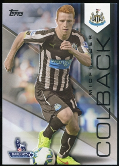 2014/15 Topps English Premier League Gold Black #93 Jack Colback /25