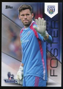 2014/15 Topps English Premier League Gold Black #137 Ben Foster /25