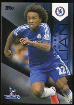 2014/15 Topps English Premier League Gold Black #31 Willian /25