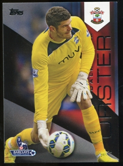 2014/15 Topps English Premier League Gold Black #102 Fraser Forster /25