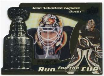 2008/09 Upper Deck Black Diamond Run for the Cup #CUP1 Jean-Sebastien Giguere /100
