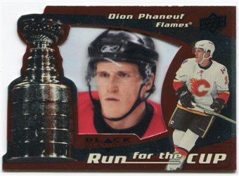 2008/09 Upper Deck Black Diamond Run for the Cup #CUP5 Dion Phaneuf /100