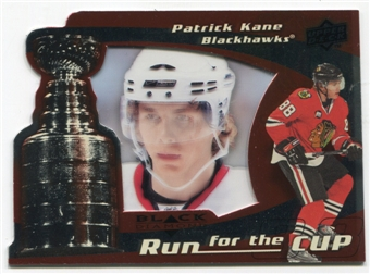 2008/09 Upper Deck Black Diamond Run for the Cup #CUP9 Patrick Kane /100
